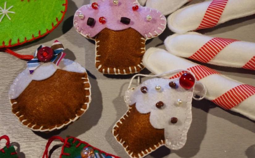 DIY – Ozdoby świąteczne z filcu