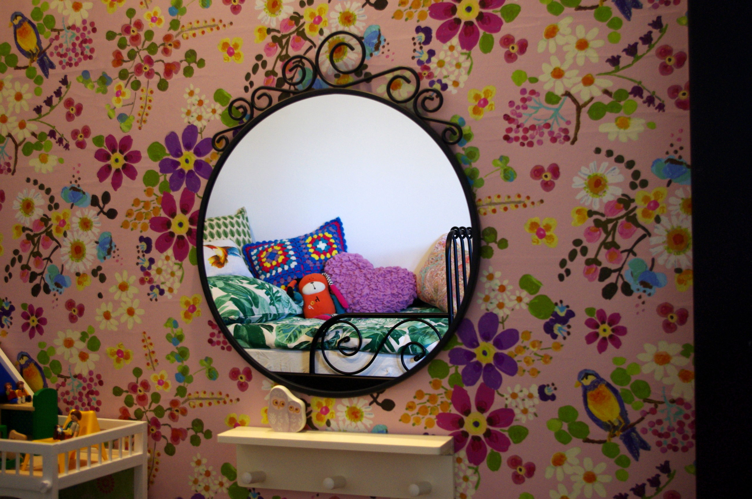 Bajkowy pokój małej dziewczynki